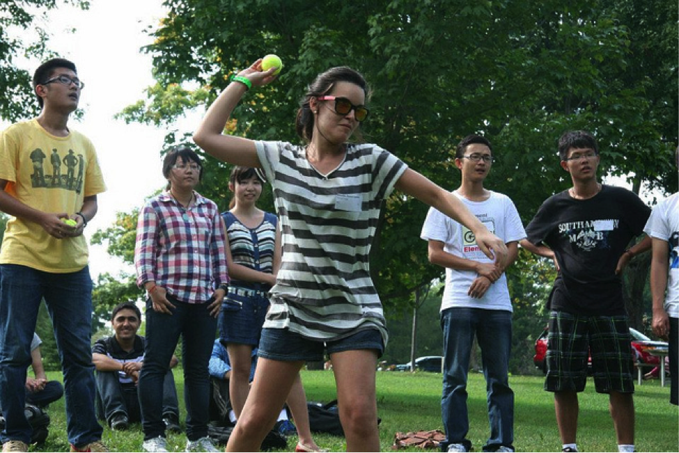 CultureWorks students enjoy a day of summer fun and games at Pinafore Park in London, Ontario