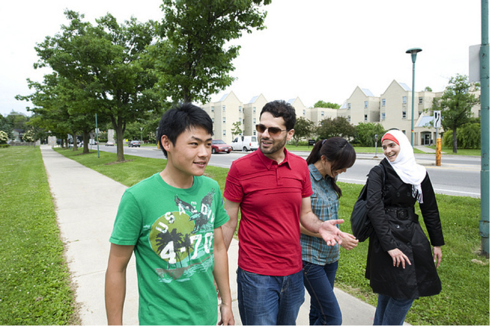 CultureWorks students get social on the Western University campus