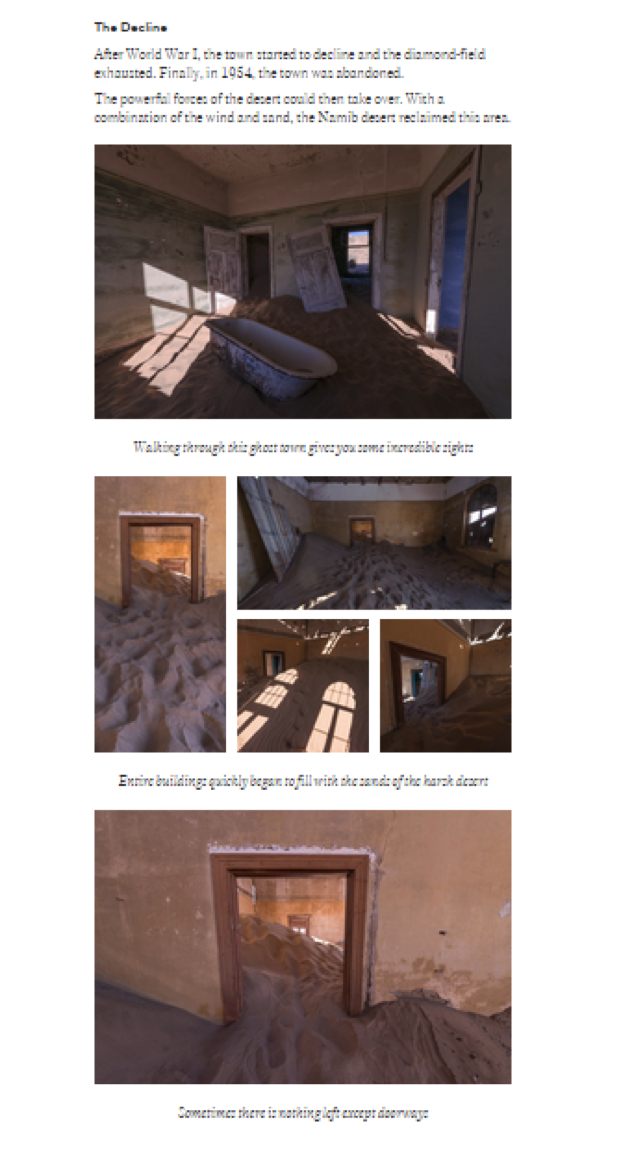 Example of a Storehouse photo story
