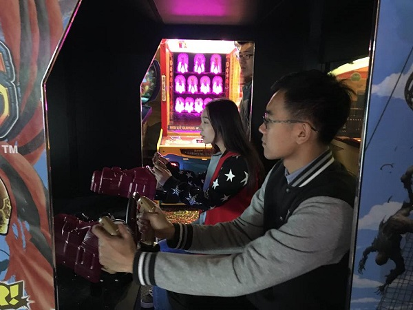 ESL students can enjoy arcade games and more at East Park!