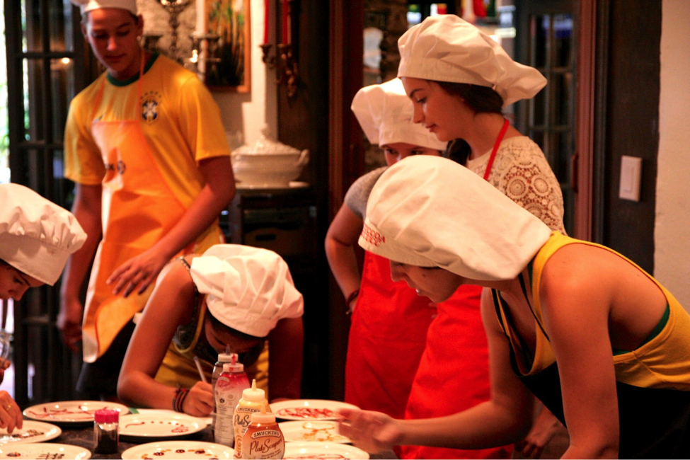 CultureWorks students can participate in many different activities like cooking classes.
