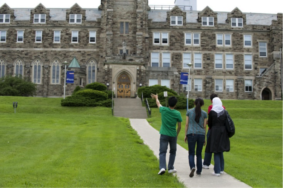 CultureWorks students explore the Western University Campus in London, Ontario