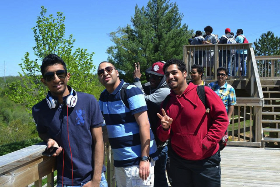 CultureWorks students visit beautiful Rouge Hill in Oshawa, Ontario