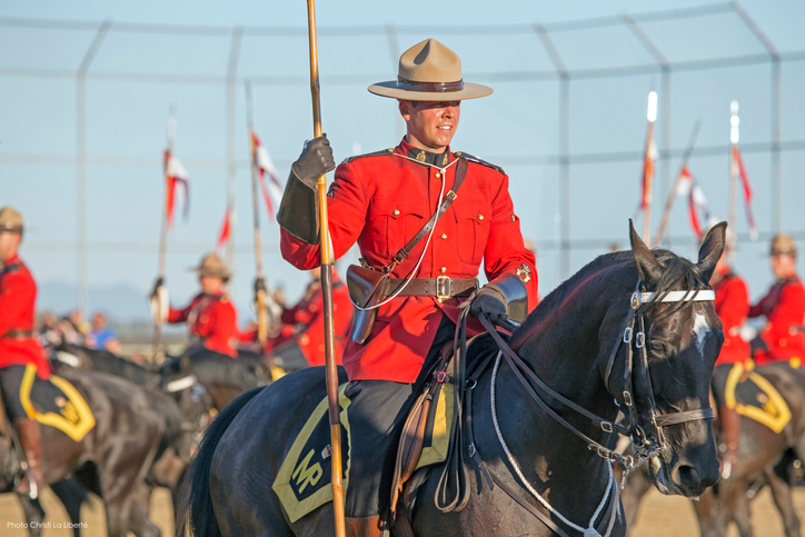 Visit the Royal Canadian Mounted Police's Horse Stable with your friends