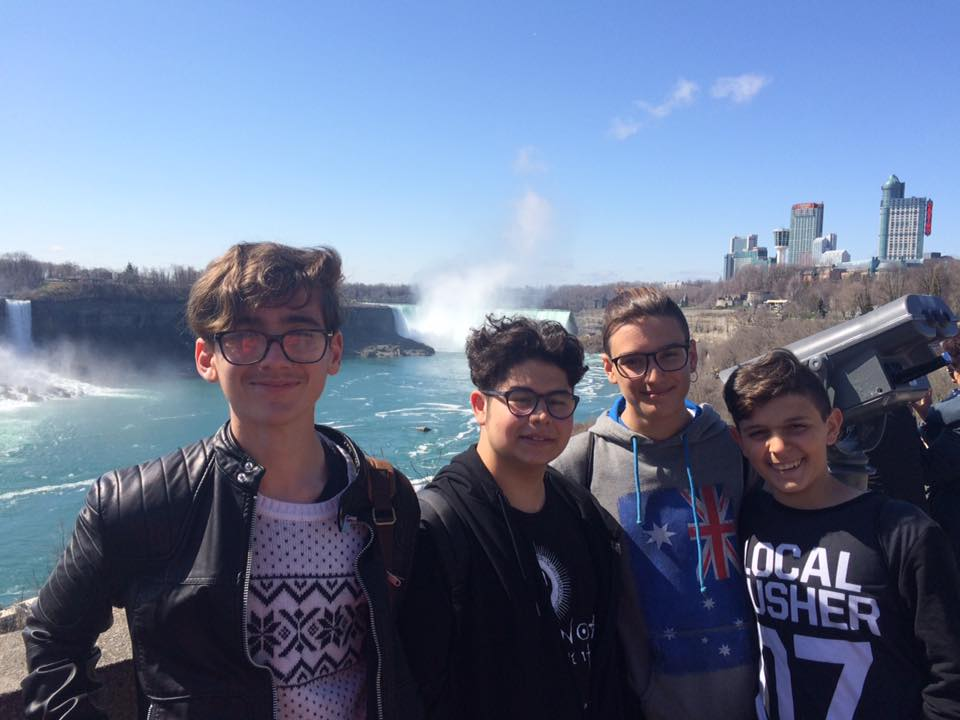 Try out your pronunciation on a trip to Niagara Falls!