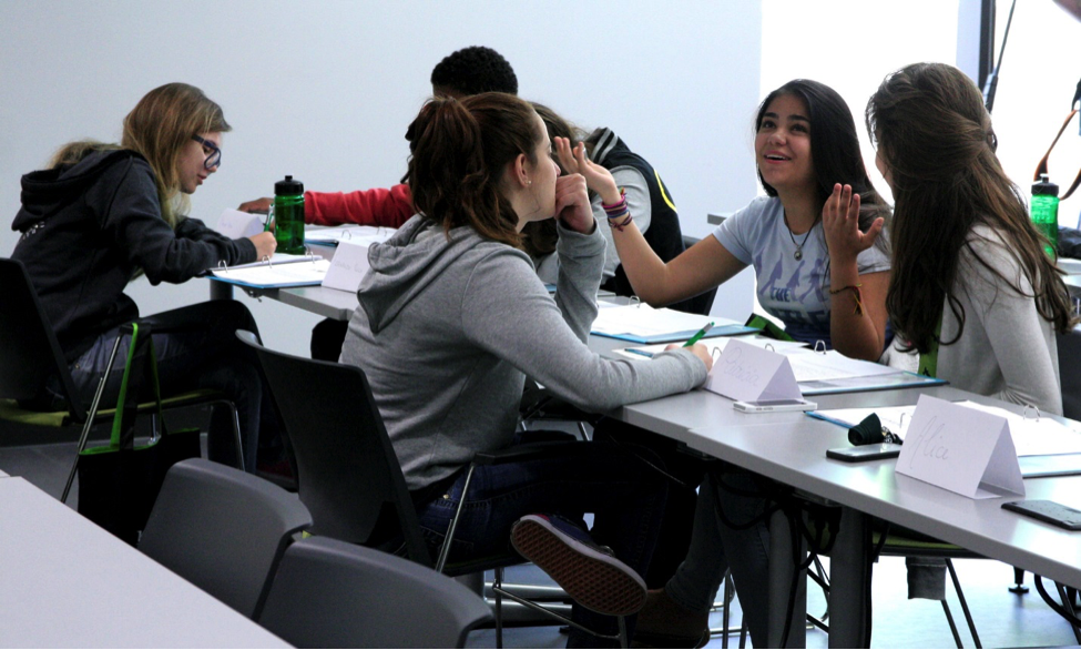 CultureWorks students get comfortable talking in English