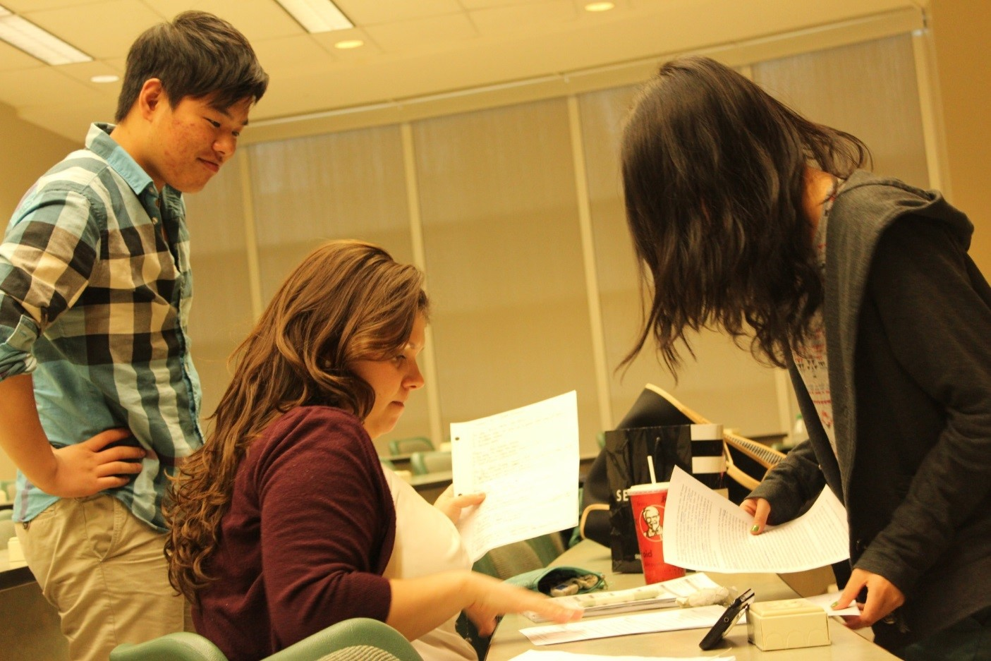 English as a second language students get help from caring teachers at CultureWorks