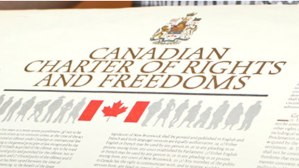 Canadian Charter of Rights & Freedoms Courtesy of www.cbc.ca