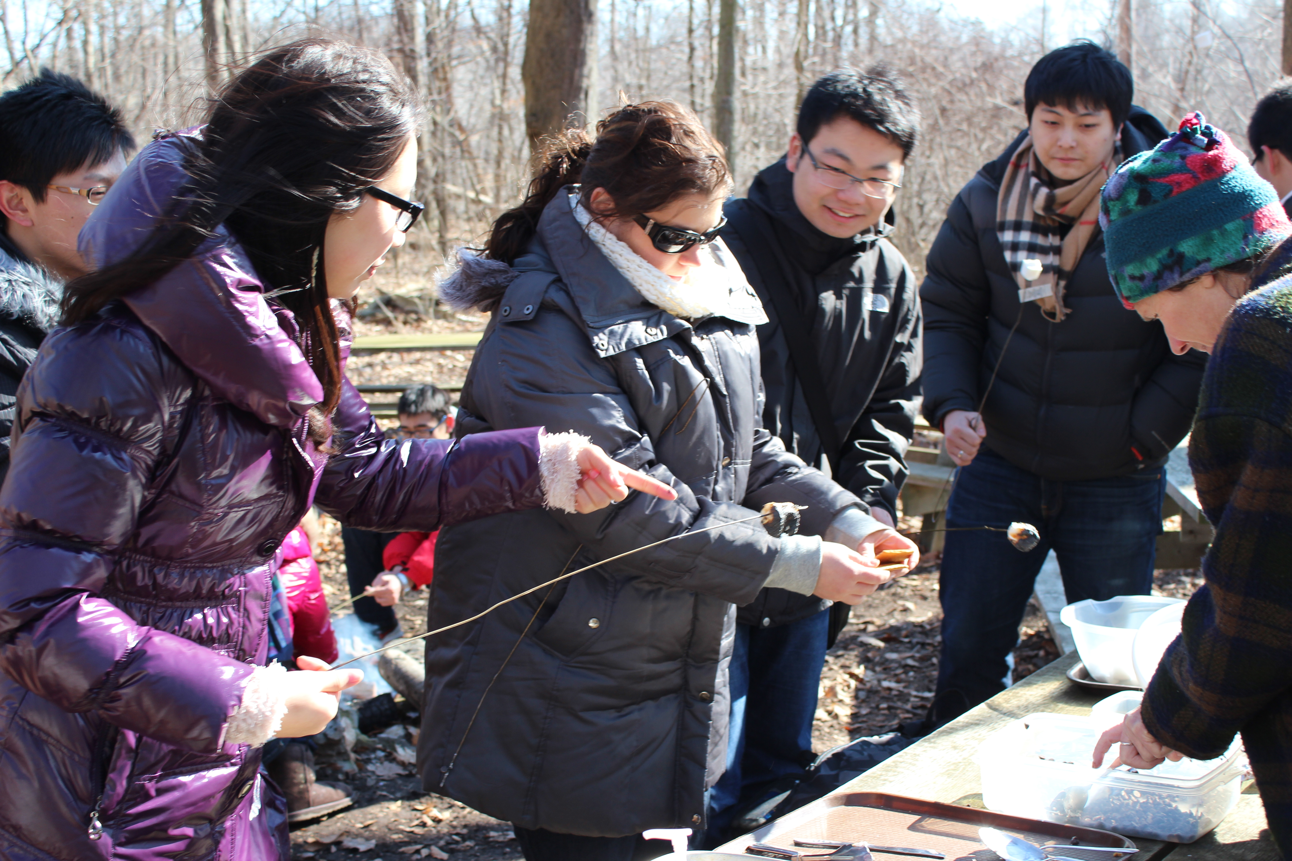 Students make S'mores