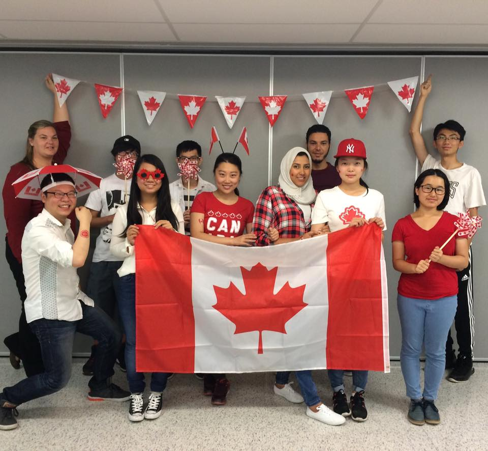 In 2017, ESL students can celebrate Canada's 150th birthday!