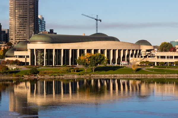 The Canadian Museum of History in Ottawa is one of Canada's most important museums